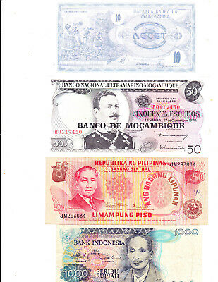 4 pre loved  Banknotes for sale Lot 5
