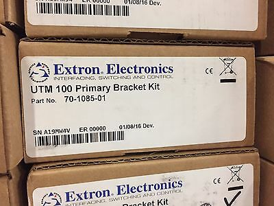 New in Box! Extron UTM 100 (UTM100) Under Table Mount Bracket Kit 70-1085-01 -3B