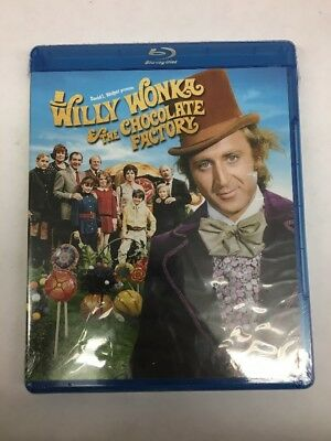 Willy Wonka and the Chocolate Factory (Blu-ray Disc, 2010)