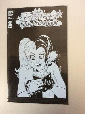 HARLEY QUINN LITTLE BLACK BOOK #1 Sealed in Bag Scott Campbell Free Shipping