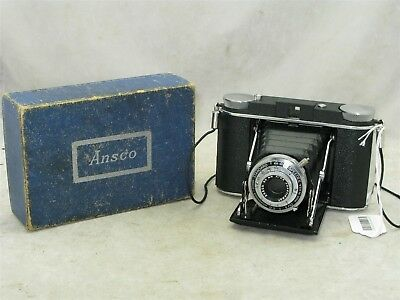 Ansco Speedex Standard In The Box 120mm Folding Camera with 90mm f6.3 Lens