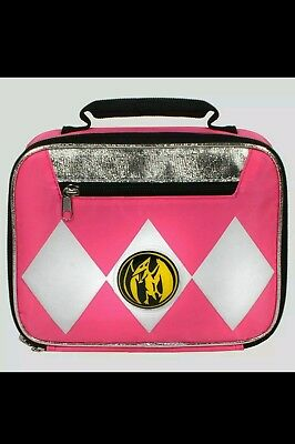 Power Rangers Pink Insulated Lunch Box