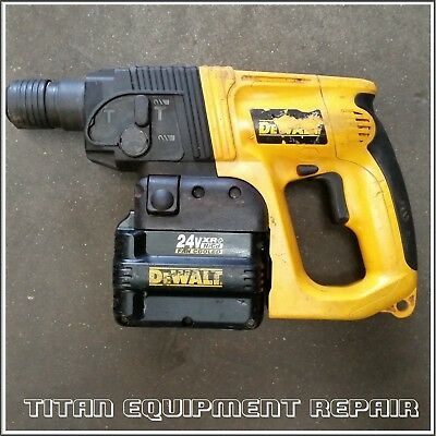 DeWalt  DW005 24V CORDLESS ROTARY HAMMER DRILL WITH BATTERY