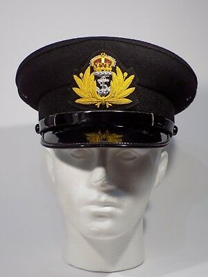 WW2 Royal Navy Officers Cap New Size 57 in stock Free UK Post