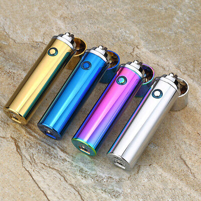 Electric Lighter USB Rechargeable Charging Arc Cross Flameless Plasma Cigarette