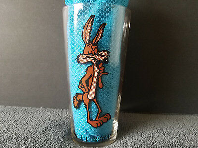 Wile E.Coyote Pepsi Cola Collectors Series Warner Bros. Inc.1973 Drinking Glass