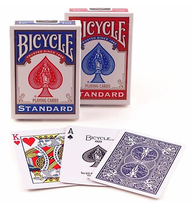 GENUINE 6 Decks Bicycle US Standard Playing Cards Free Superfast Shipping!!