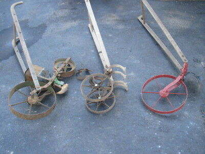 Antique Planet Jr  Plow And Seeder (No. 300A)  See Pics.