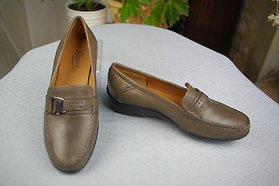 Mocassin Ultra-Convenience Sioux Leather Taupe T 35,5 Condition Quiet
