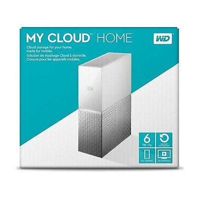WD  2TB 4TB 6TB My Cloud Home Personal Cloud Auto BackUp Files Video Photos New!