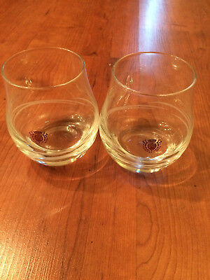 Rare George & J.G Smith Cognac Sifter Glass (2 Pack) Free Shipping