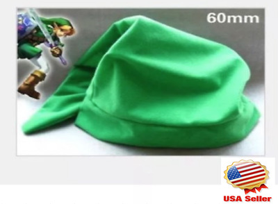 New Legend of Zelda Link Cosplay Green Hat USA Free Shipping