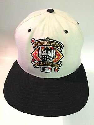 17334df2849  VINTAGE  PITTSBURGH PIRATES Hat 1994 ALL-STAR GAME Baseball MLB Snapback  Cap