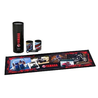 Yamaha Bar Runner and Stubby Holder Gift Set