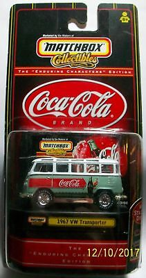 Matchbox Collectibles Coca-Cola 1967 Vw Transporter 23 Window  Bus
