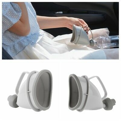 Portable Outdoor Unisex Car Travel Urinal Funnel Traffic Camp Potty Pee Bottle