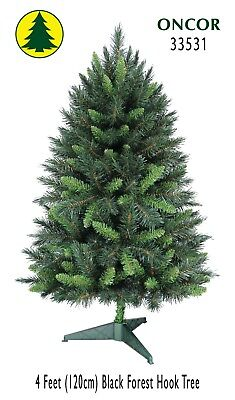 4ft Eco-Friendly Oncor Black Forest Christmas Tree [Open Box]
