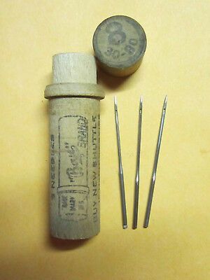 Weed FF & Domestic Notched Top 1x4  Sewing Machine Needles  / Boye
