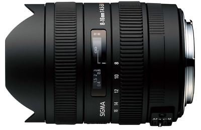 Brand New Sigma 8-16mm f/4.5-5.6 DC HSM Ultra-Wide Zoom Lens for Canon EOS SLRs