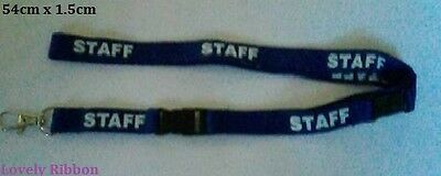 REXEL QUALITY STAFF, LANYARD, Break Away Clip, Office, Keys, Neck strap, ID, Ph