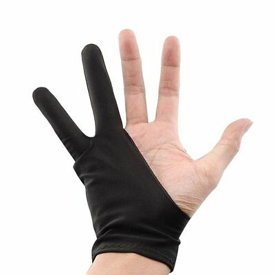2pc Free Size Artist Sketch Glove for Marker Wacom Graphic Tablet Huion 1060 420