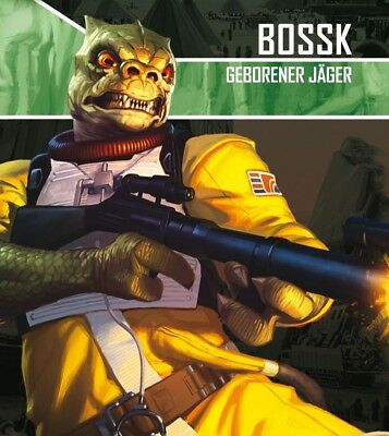 Star Wars Imperial Assault - Bossk geborener Jäger Extension (German) Mercenary