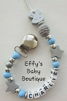 Dummies & Soothers Personalised Star Wars Baby Dummy Clip