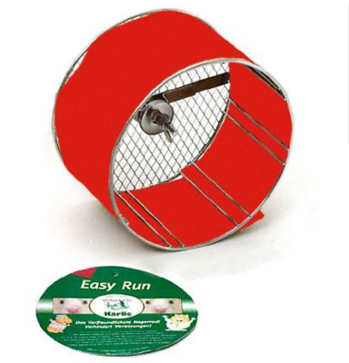 "Karlie Easy Run Safety Exercise Wheel for Hamsters Gerbils Mice Rodents 6"" 15cm"