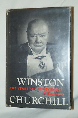 WW2 British Winston Churchill The Years Of Achievment Reference Book
