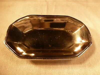 Antique Tiffany & Co. Heavy Sterling Silver Pin Trinket Ring Tray 1926 No Mono