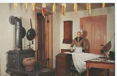 Old Wade House, Greenbush, Wisconsin, Summer Kitchen, Ironing-  Postcard