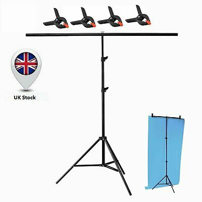 Photography PVC Backdrop Background 200*200cm Large Support Stand System Metal