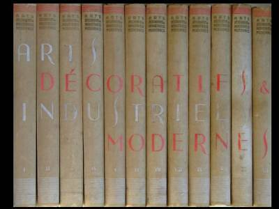 Encyclopedie Arts Decoratifs Et Industriels Modernes - 1925 -Exposition Art Deco