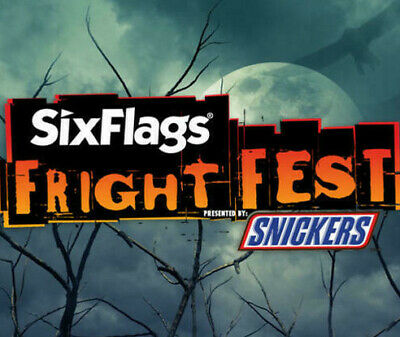 Six Flags Discovery Kingdom Fright Fest Tickets $37 A Promo Discount Tool