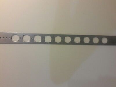 """Lot 29 HOLDRITE #103-18 Pipe Positioning Alignment Brackets 20"""" x 2"""" made in USA"""