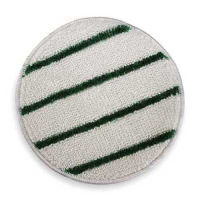 ACS Scrubble Carpet Bonnet, 19 In, White w/Green Scrubber (Scrub) Stripe #202-19