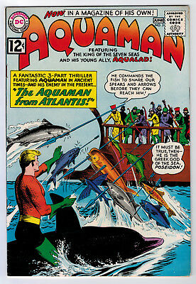 Aquaman #3 7.5 Higher Grade 1962 Off-White/white Pages