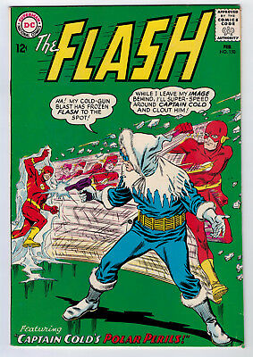 Flash #150 6.5 1965 Off-White/white Pages