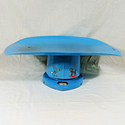 Vintage Nursery Baby Scale For Home Use Baby Blue