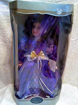 Collectible Memories Birthstone Collection Porcelain Doll, New/Old Stock