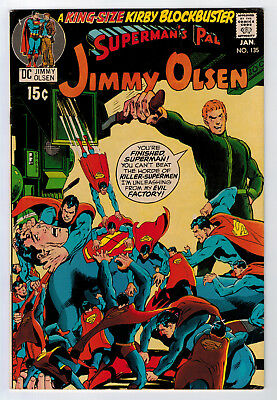 Superman's Pal Jimmy Olsen #135 7.0 Higher Grade 2Nd Darkseid 1971 Ow/w Pages