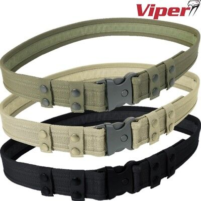 "Viper Security Belt Military Mens 30 - 44"" Quick Release Buckle Tactical Sports"