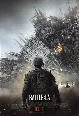 Battle Los Angeles 2011 27x41 Orig Movie Poster FFF-66500 Rolled Fine, Very Good