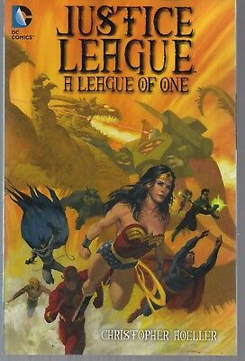 Jla Justice League Of One Dc '15 Softcvr Gn Tpb Wonder Woman+ Painted Art New