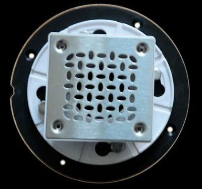 "XPShowers ABS Snap-in Drain, 2"" - Including Square Strainer"
