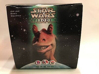 1999 KFC Taco Bell STAR WARS EPISODE I - JAR JAR BINKS Squirter Figure NEW
