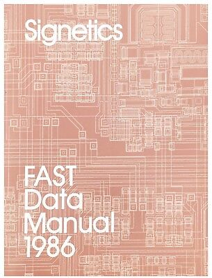 Signetics Fast Data Manual / Data Book 1986