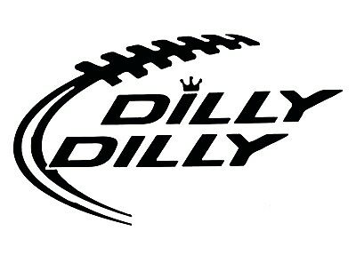 """Sticker 2/"""" x 3.5/"""" Dilly Dilly Beer Decal"""