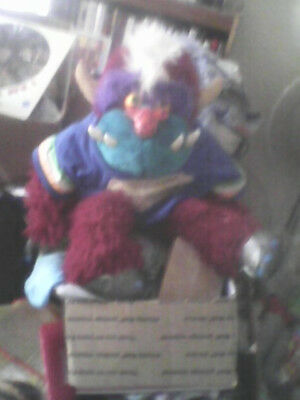 AmToy's My Pet Football Monster['86/Missing One Cuff And Helmet/Jersey Has Wear]