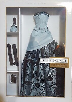 French Quarter Barbie Doll Outfit Limited Edition New In Box!